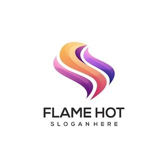 Логотип пламени