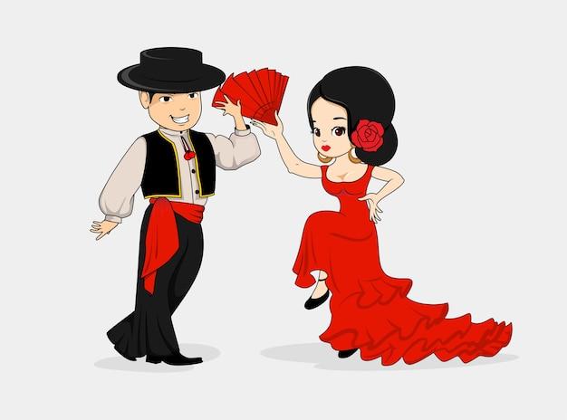 Flamenco mascot