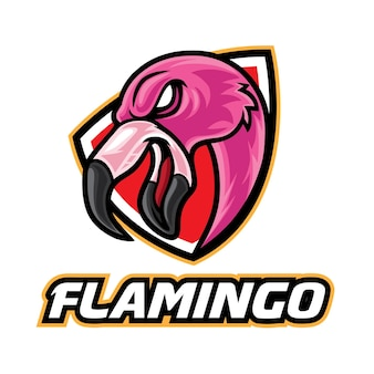 フラミンゴeスポーツロゴ