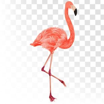 Фламинго летний 3d стиль