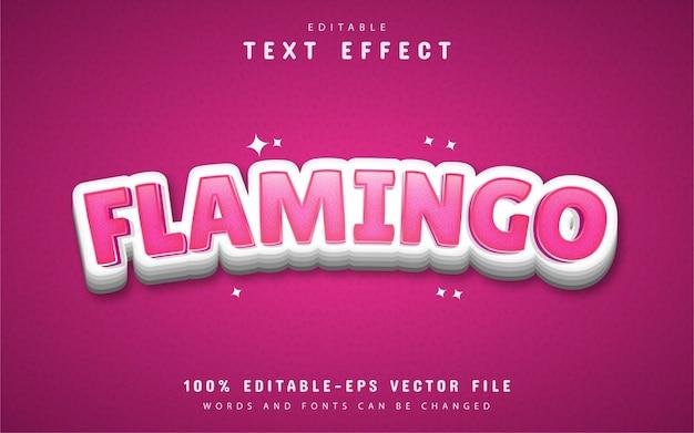 Flamingo 텍스트 효과