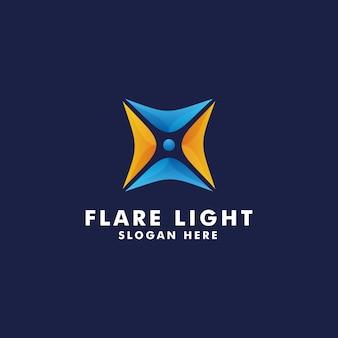 Flare light logo