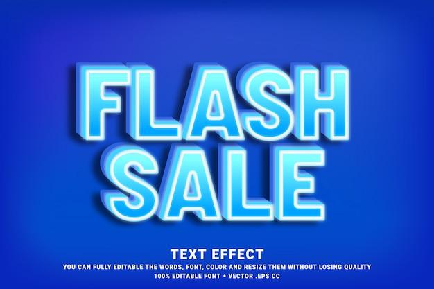 Flash sale 3d font effect