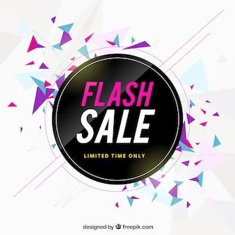 Flash sale background