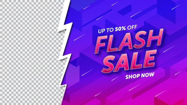 Flash sale template design