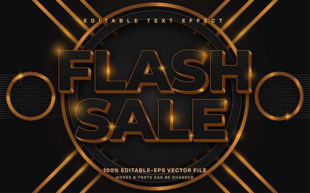 Flash sale text effect