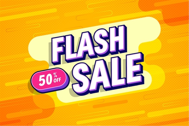 Flash sale with discount