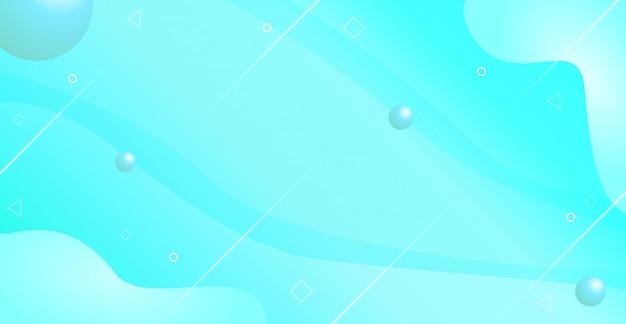 Мягкий синий баннер flash продажа фона