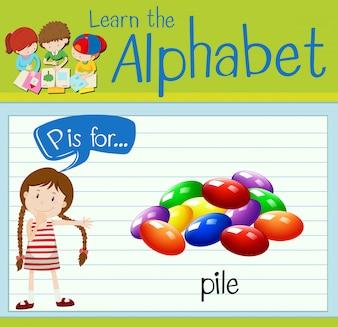 Буквенное обозначение P для сваи