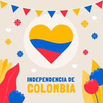 Appartamento 20 de julio - illustrazione di indipendenza della colombia