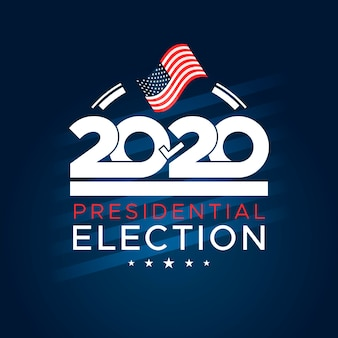 Flat 2020 us presidential election voting