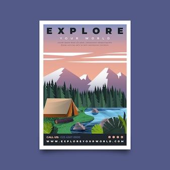 Flat adventure flyer