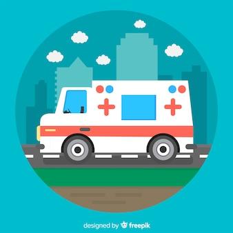 Flat ambulance concept