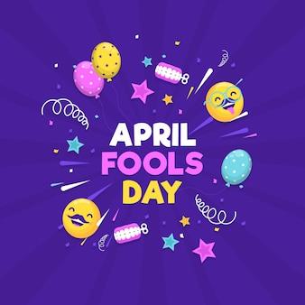 Плоский апрельский день дурака