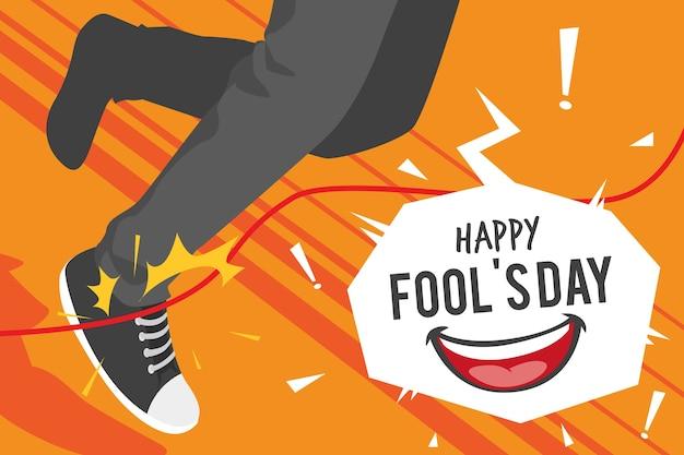Flat april fools day prank