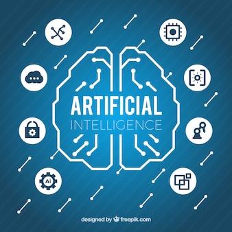 平らな人工知能の背景
