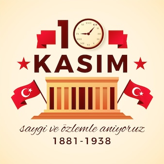 Flat atatürk memorial day
