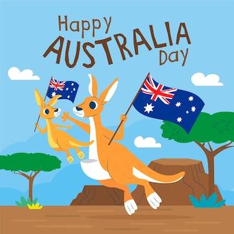 Плоский австралийский день