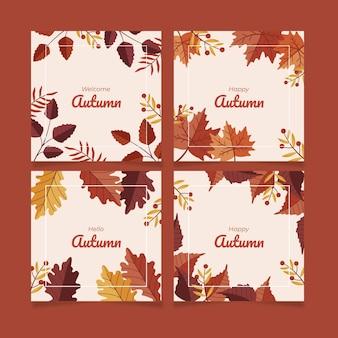 フラット秋のinstagramの投稿コレクション