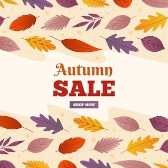 Flat autumn sale