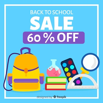 Flat back to school sale