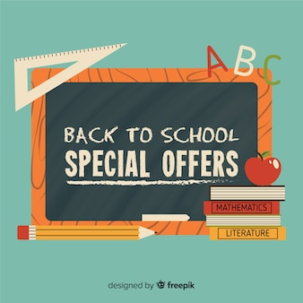 Flat back to school sales