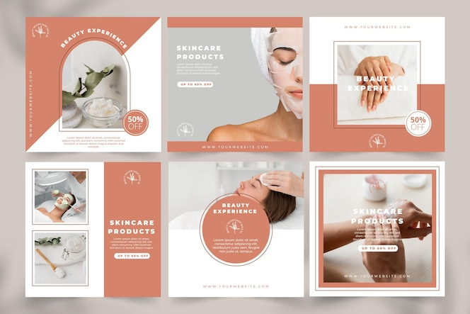 Flatbeauty instagram story collectiontemplate