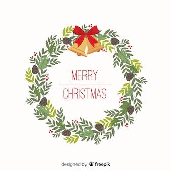 Колокольчики рождественский венок