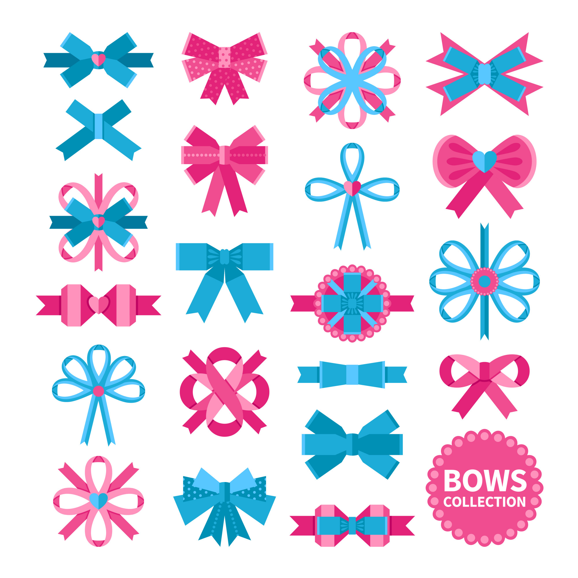 Flat Bows Collection