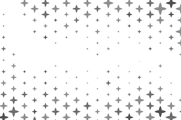 Flat bright stars background