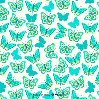 플랫 나비 패턴