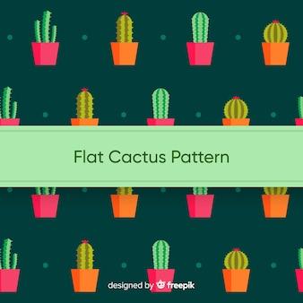 Плоский рисунок кактуса