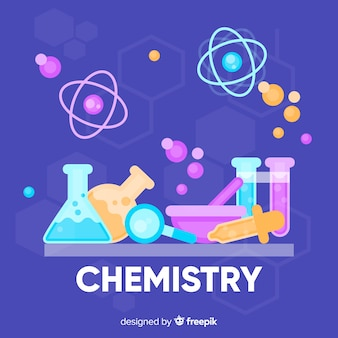 Flat chemistry background