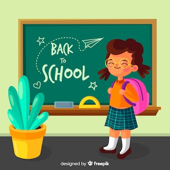 Flat children back to school collection