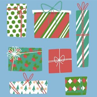 フラットクリスマスギフトコレクション