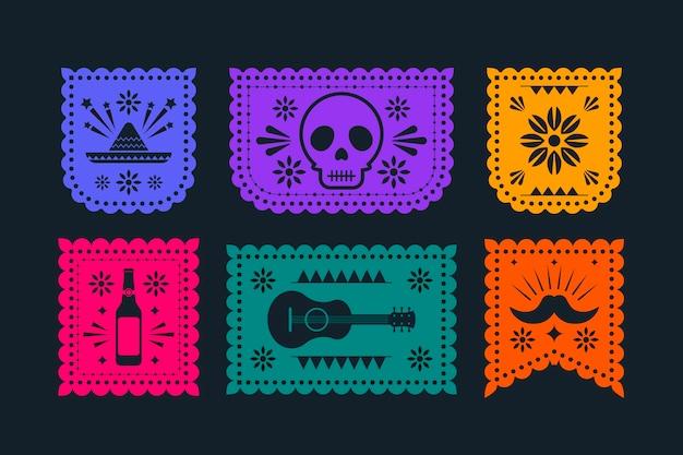 フラットシンコデマヨメキシコの装飾