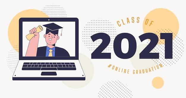 Плоский класс иллюстрации 2021 года