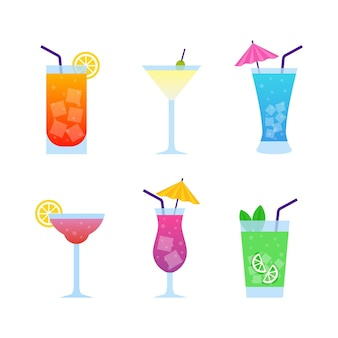 Flat cocktail collection concept