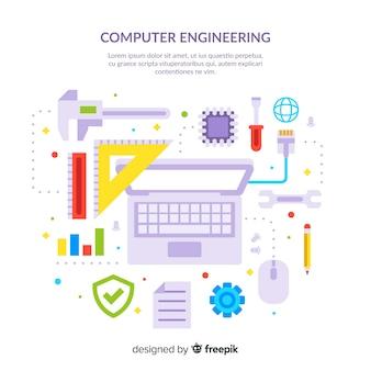 플랫 컴퓨터 공학 개념