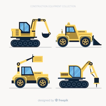 Flat construction machines collection