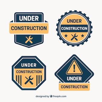 Modello piatto in costruzione