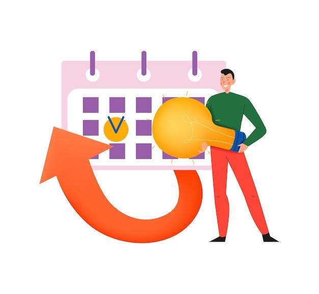 Плоский набор иконок краудфандинга с пожертвованием денег и спонсором нового бизнеса