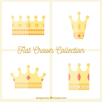 Flat crown collection
