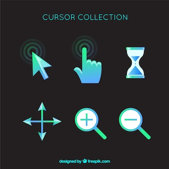 Flat cursor collection