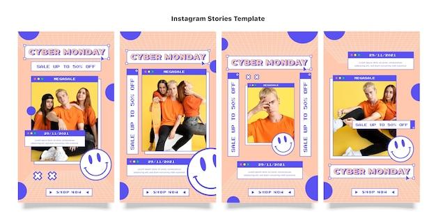 Коллекция историй instagram киберпонедельник