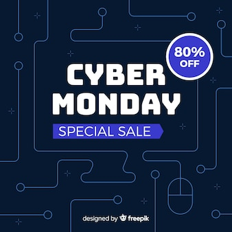 Flat cyber monday special sale