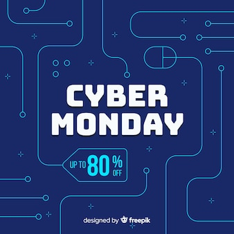 Flat cyber monday with discount
