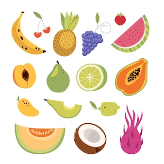 Flat delicious fruit pack