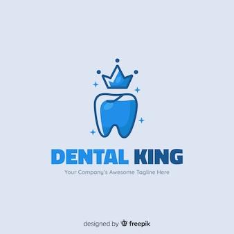 Flat dental clinic logo