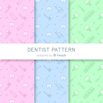 Flat dentist pattern